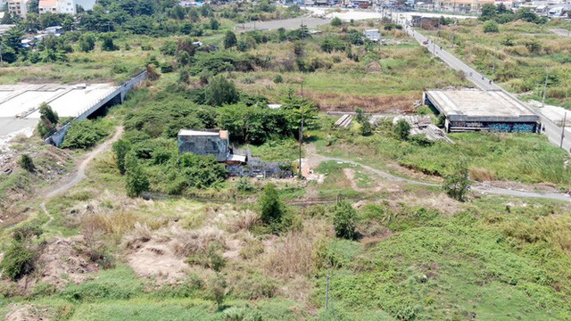 Cận cảnh khu đất 4,3ha ngoài ranh quy hoạch Thủ Thiêm người dân được hoán đổi - Ảnh 1.
