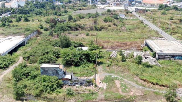 Cận cảnh khu đất 4,3ha ngoài ranh quy hoạch Thủ Thiêm người dân được hoán đổi - Ảnh 12.