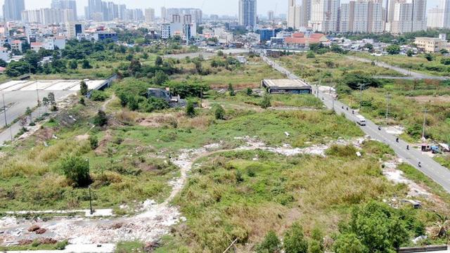 Cận cảnh khu đất 4,3ha ngoài ranh quy hoạch Thủ Thiêm người dân được hoán đổi - Ảnh 4.