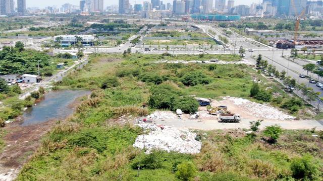 Cận cảnh khu đất 4,3ha ngoài ranh quy hoạch Thủ Thiêm người dân được hoán đổi - Ảnh 8.