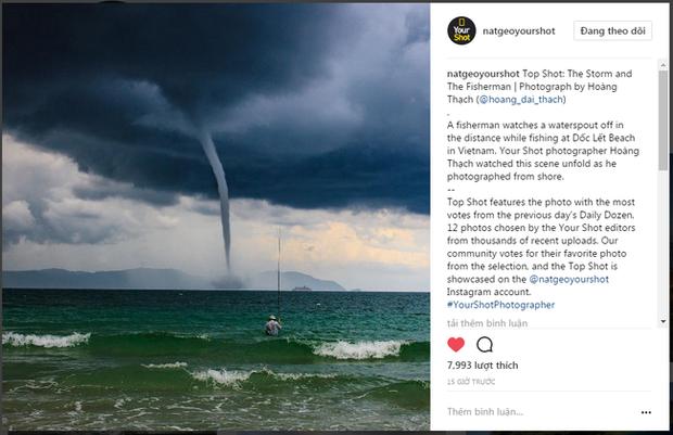Bức ảnh Ông già và biển cả phiên bản Việt lọt top 1 ảnh về câu chuyện đại dương do National Geographic bình chọn và chia sẻ đầu tiên của chính tác giả - Ảnh 2.