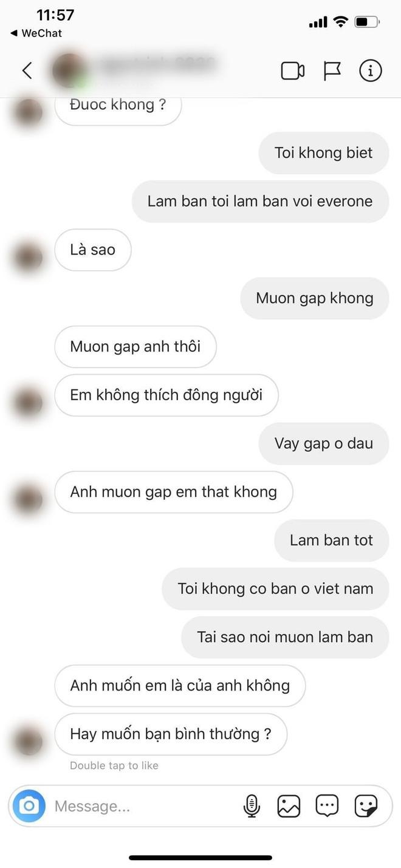 """Trang Anna đăng đàn bóc """"phốt"""" cô gái gạ gẫm hôn phu người Thái: """"Ai có ý định với chồng mình thì bỏ đi, còn xanh và non lắm"""" - ảnh 2"""