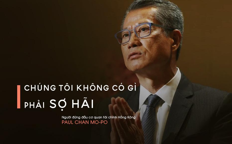 """Quan chức Hồng Kông: Cấm vận của Mỹ """"không tác động được nhiều"""" tới Hồng Kông"""