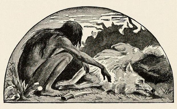 Nguyên mẫu đời thực của cậu bé rừng xanh: Không nói được tiếng người, sống như bị thiểu năng và chết trong bệnh tật sau 20 năm rời bầy sói - Ảnh 2.