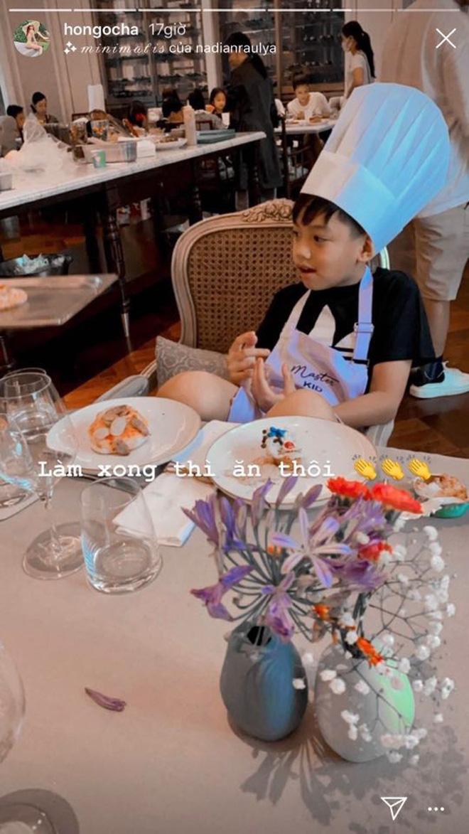 Đang bầu bí, Hà Hồ vẫn đưa con trai đi vui chơi cuối tuần: Nhan sắc mẹ bầu qua camera thường gây chú ý - ảnh 5
