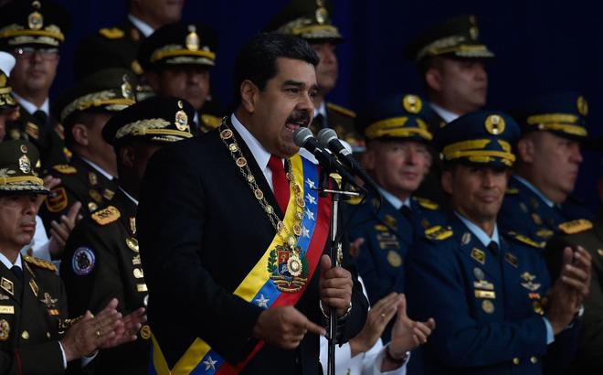 QĐ Venezuela báo động chiến đấu toàn lực lượng: Đập tan âm mưu đảo chính? - Ảnh 1.