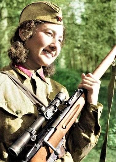 11 nữ xạ thủ bắn tỉa nguy hiểm nhất của Liên Xô - Ảnh 4.
