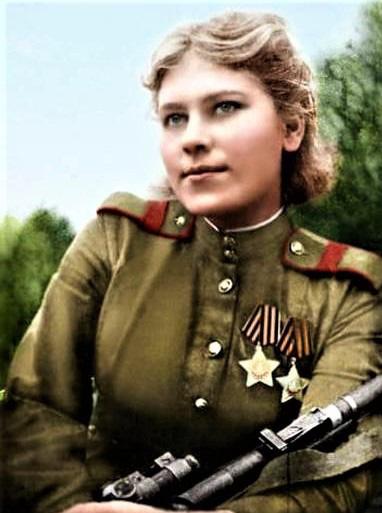 11 nữ xạ thủ bắn tỉa nguy hiểm nhất của Liên Xô - Ảnh 5.