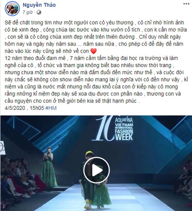 Bé Hà My - mẫu nhí 4 tuổi bị ung thư từng được hoa hậu HHen Niê bế trên sàn catwalk khiến bao người rơi nước mắt đã qua đời - Ảnh 7.