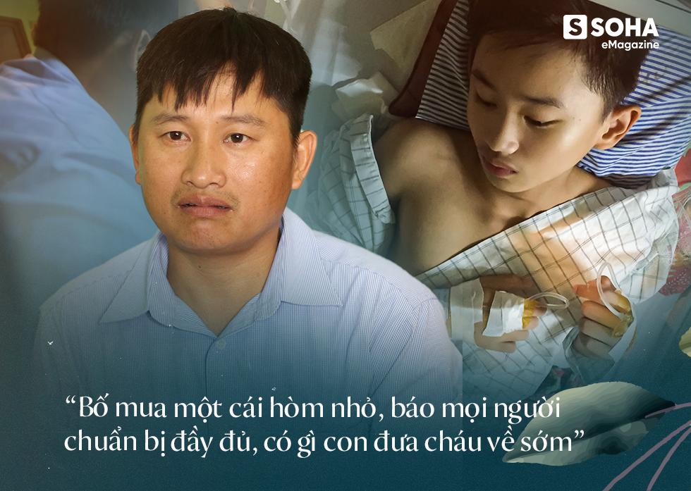 Cậu bé 12 năm sống trên chiếc bô xanh: Khát khao sống của đứa trẻ không bụng, mang bệnh 1 tỷ người mới có 1 người bị - Ảnh 8.