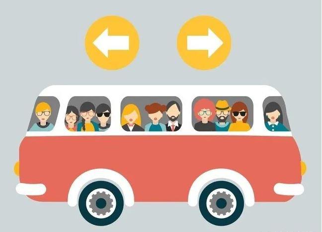 Xe buýt đang đi sang trái hay phải? Đa số người được hỏi đều nhầm - Ảnh 1.