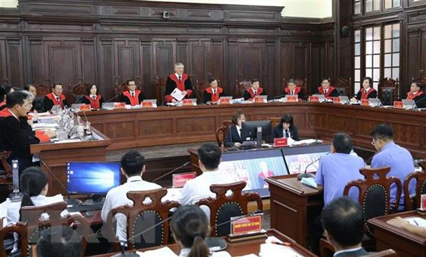 [Ảnh] Bên trong phiên tòa giám đốc thẩm vụ án Hồ Duy Hải, kỳ án kéo dài 10 năm chưa có hồi kết - Ảnh 1.