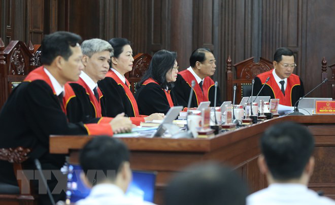 [Ảnh] Bên trong phiên tòa giám đốc thẩm vụ án Hồ Duy Hải, kỳ án kéo dài 10 năm chưa có hồi kết - Ảnh 5.