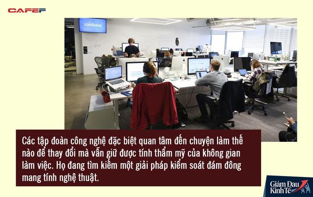 Trở lại văn phòng hậu Covid-19, nhân viên Thung lũng Silicon chứng kiến một loạt thay đổi chưa từng có nơi công sở: Không gian làm việc mở biến mất, xe đưa đón bị hạn chế - Ảnh 3.