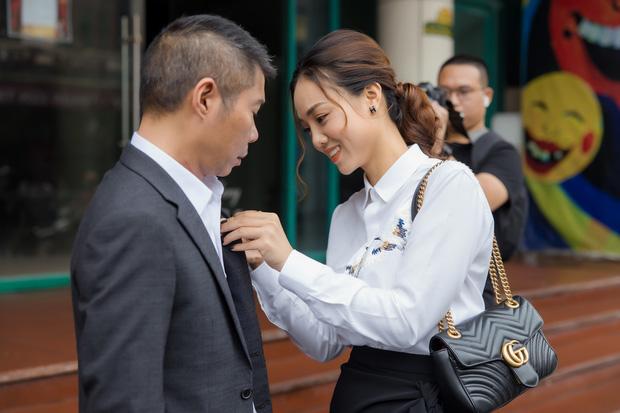 NSND Công Lý nhậm chức Phó Giám Đốc Nhà hát Kịch Hà Nội, MC Thảo Vân liền có hành động chứng minh mối quan hệ với chồng cũ - Ảnh 4.