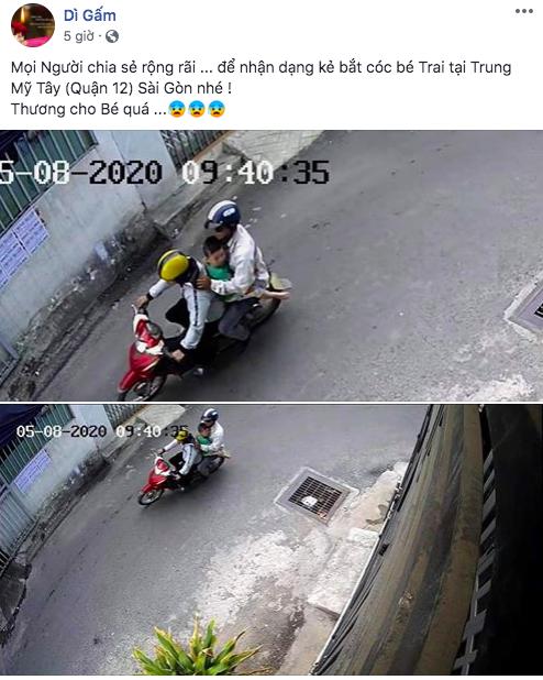 Người phụ nữ trình báo nghi con trai bị bắt cóc ở Sài Gòn, công an xác minh đứa trẻ ở với bố tại Quảng Ngãi  - Ảnh 1.