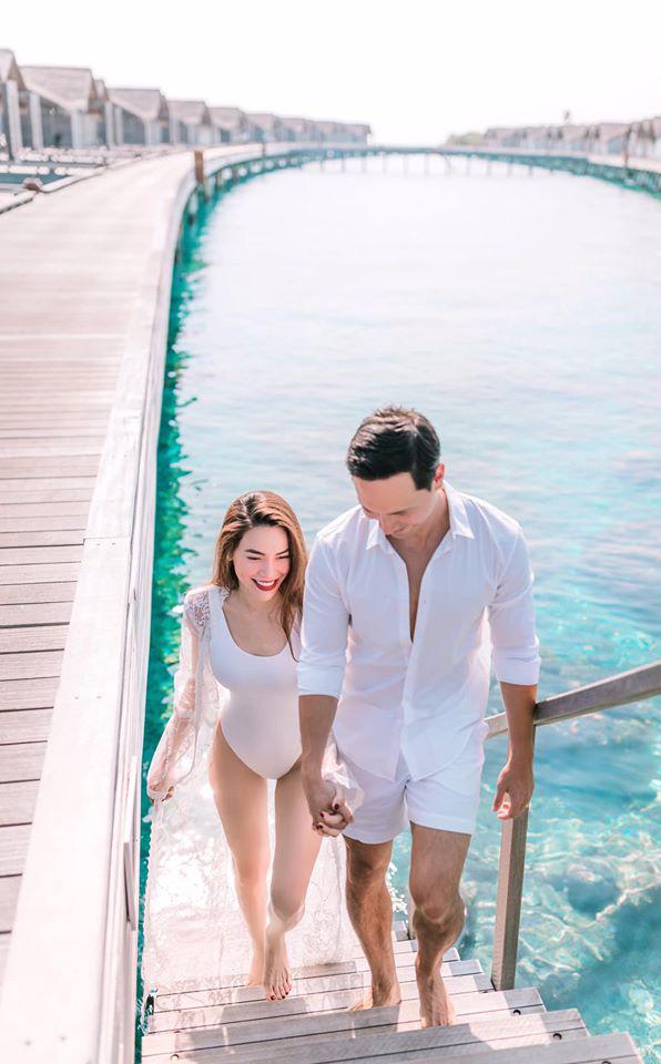 Hồ Ngọc Hà tung ảnh bikini nóng bỏng, tình tứ bên Kim Lý - Ảnh 4.