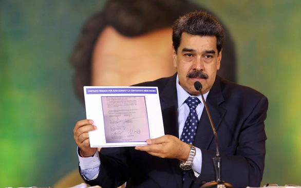 Tàu Mỹ mang vũ khí áp sát bờ biển Venezuela: Chuyên gia cảnh báo nguy cơ bị đánh chìm ngay lập tức! - Ảnh 2.