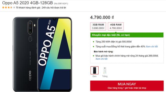 Top 5 điện thoại đáng mua trong tầm giá dưới 5 triệu đồng - Ảnh 1.