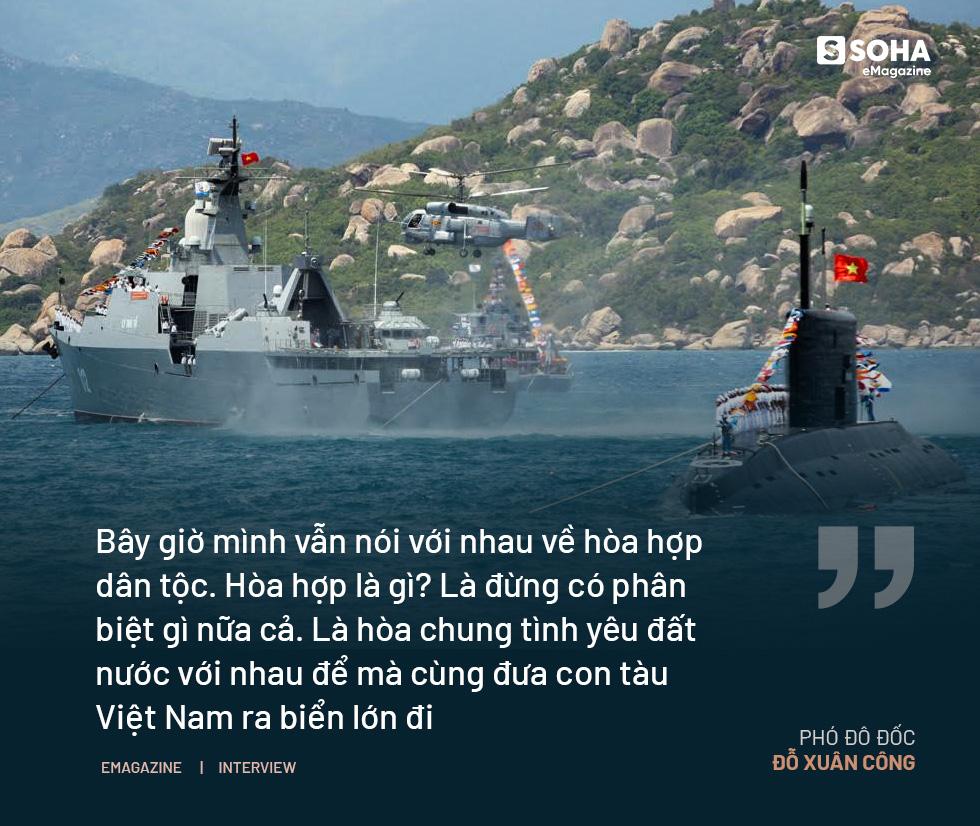 """Phó Đô đốc Đỗ Xuân Công: """"Muốn giữ được biển đảo, phải tuyệt đối giữ mình. Làm Tư lệnh khó lắm cháu ạ"""" - Ảnh 6."""