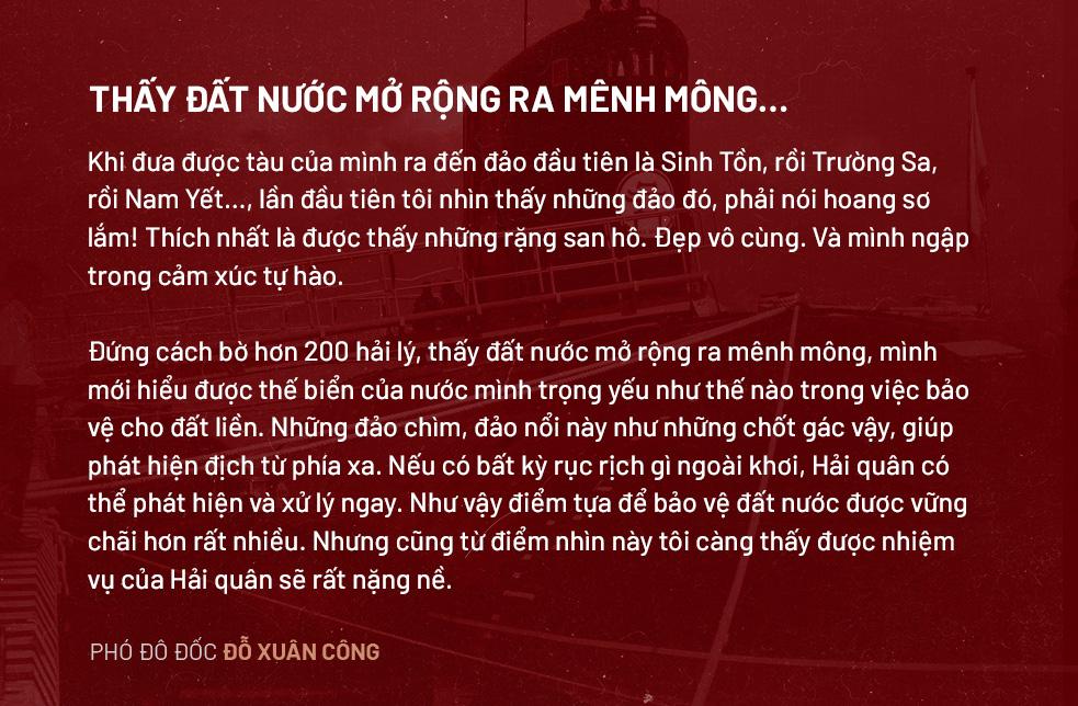 """Phó Đô đốc Đỗ Xuân Công: """"Muốn giữ được biển đảo, phải tuyệt đối giữ mình. Làm Tư lệnh khó lắm cháu ạ"""" - Ảnh 20."""