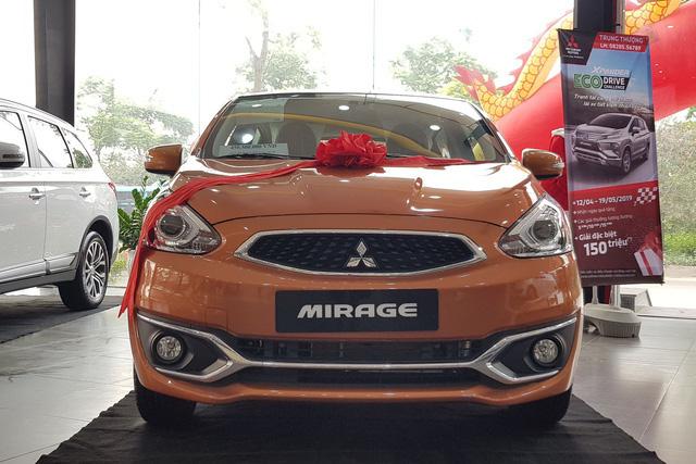 Rộ tin khai tử, Mitsubishi Mirage xả kho giảm giá kỷ lục: Giá cao nhất hơn 400 triệu đồng chỉ ngang Kia Morning - Ảnh 1.