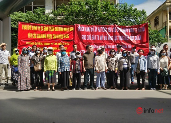 Hà Nội: Dự án siêu rùa, người mua đã về với tổ tiên, nhà vẫn chưa bàn giao - Ảnh 1.
