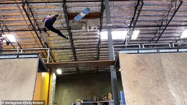 Thần đồng trượt ván 11 tuổi bị nứt hộp sọ, may mắn sống sót sau cú ngã kinh hoàng trong lúc tập luyện - Ảnh 3.