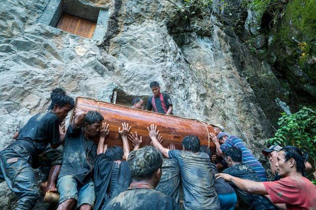Sống chung và vệ sinh thi thể người chết: Việc làm nghe rùng rợn nhưng là văn hóa người Toraja cùng những lễ tang đắt đỏ thể hiện sự giàu sang - Ảnh 3.