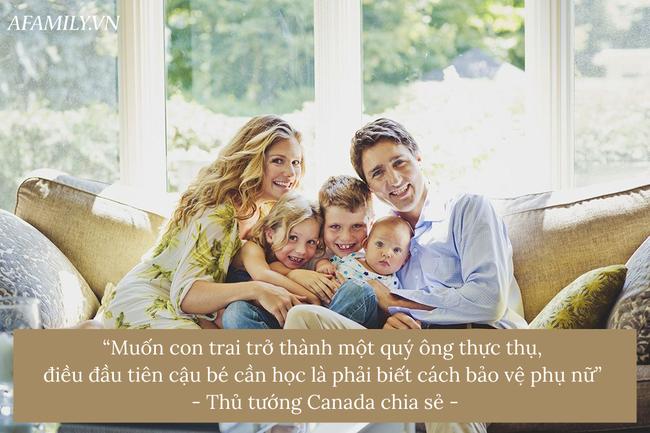 Nếu muốn con trai sau này trở thành quý ông thực thụ, hãy áp dụng ngay lời khuyên sâu sắc này - Ảnh 3.