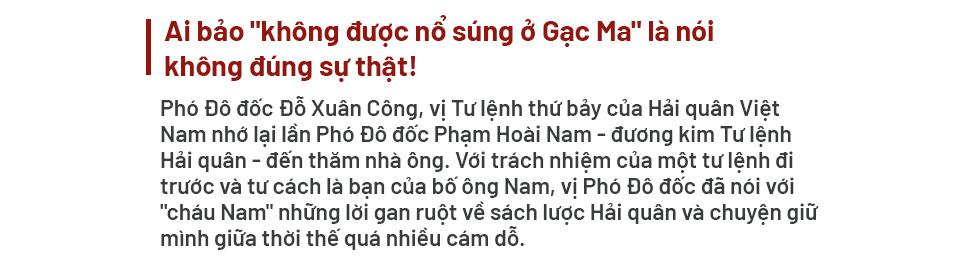 """Phó Đô đốc Đỗ Xuân Công: """"Muốn giữ được biển đảo, phải tuyệt đối giữ mình. Làm Tư lệnh khó lắm cháu ạ"""" - Ảnh 1."""