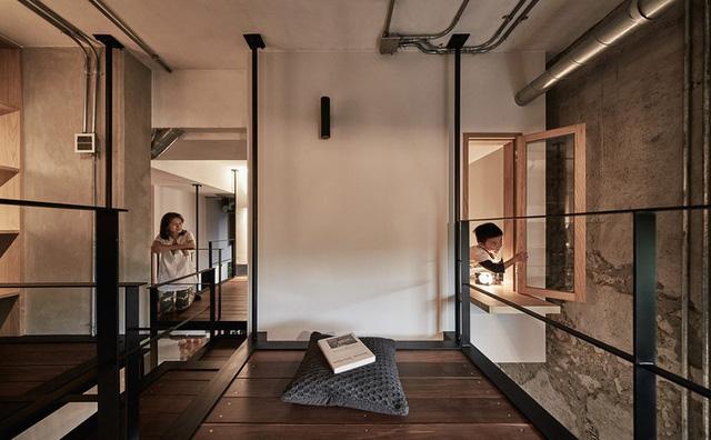 Ngôi nhà có phòng ngủ treo ấn tượng - Ảnh 6.