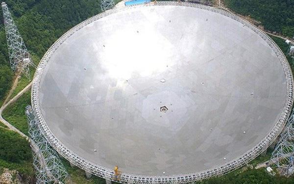 To ngang 30 sân bóng đá, kính viễn vọng lớn nhất thế giới của Trung Quốc bắt đầu sứ mệnh săn lùng người ngoài hành tinh - Ảnh 1.