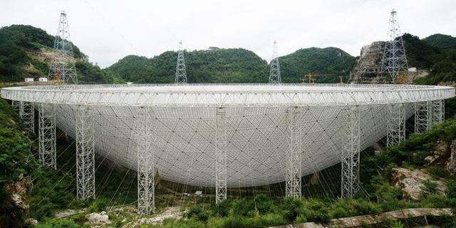 To ngang 30 sân bóng đá, kính viễn vọng lớn nhất thế giới của Trung Quốc bắt đầu sứ mệnh săn lùng người ngoài hành tinh - Ảnh 3.