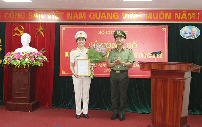 Chân dung 6 nữ tướng của Công an nhân dân Việt Nam - Ảnh 6.