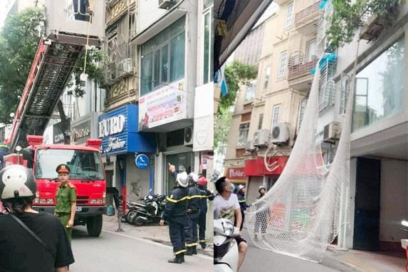 Đối tượng truy nã nguy hiểm bị bắt trên phố Núi Trúc nghi bị ngáo đá - Ảnh 1.