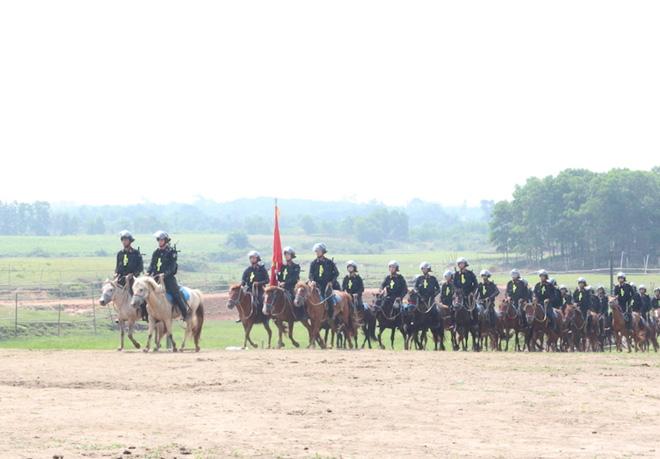 Lực lượng Cảnh sát cơ động kỵ binh sẽ diễu hành, báo cáo kết quả trước đại biểu Quốc hội - Ảnh 2.