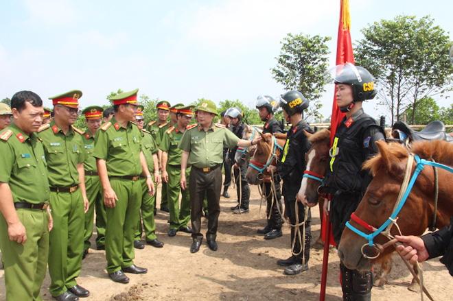 Lực lượng Cảnh sát cơ động kỵ binh sẽ diễu hành, báo cáo kết quả trước đại biểu Quốc hội - Ảnh 1.