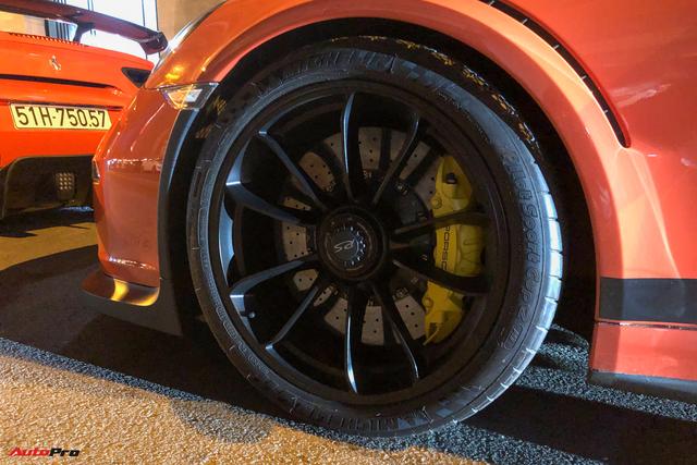 Cận cảnh Porsche 911 GT3 RS từng của ông Đặng Lê Nguyên Vũ: Ngoại thất dễ lầm tưởng với xe cũ của Cường Đô-la - Ảnh 7.