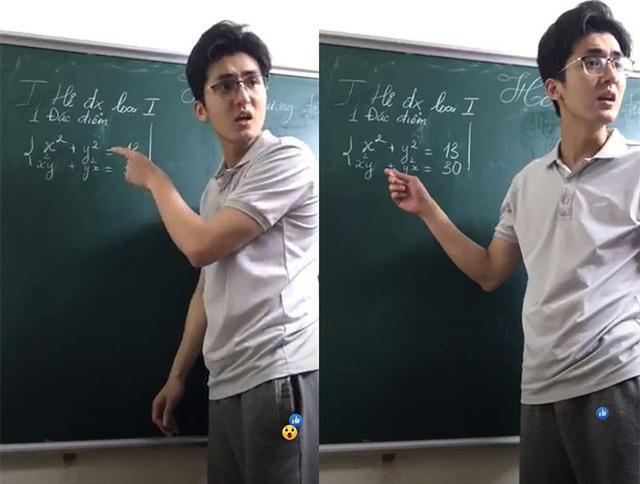 Thầy dạy toán gây bão mạng xã hội khiến Hương Giang cứng họng không nói được gì - Ảnh 1.