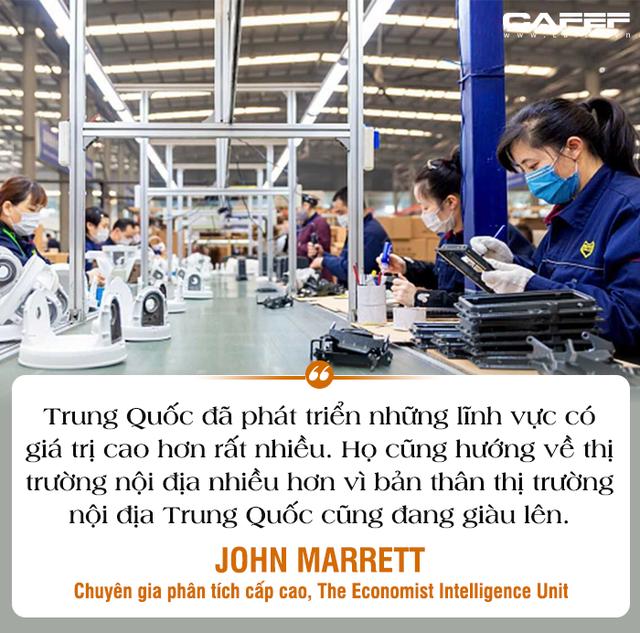 Chuyên gia The Economist Intelligence Unit: Mỹ đe dọa rút khỏi WTO, tình hình Trung Quốc phức tạp, đối thủ số 1 và nguy cơ hàng đầu của Việt Nam là gì?  - Ảnh 4.