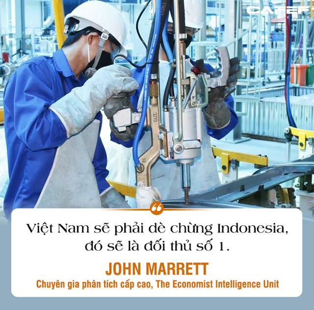 Chuyên gia The Economist Intelligence Unit: Mỹ đe dọa rút khỏi WTO, tình hình Trung Quốc phức tạp, đối thủ số 1 và nguy cơ hàng đầu của Việt Nam là gì?  - Ảnh 6.