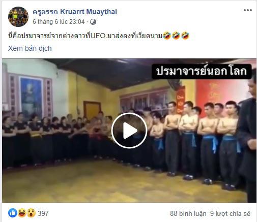 """Chưởng môn Nam Huỳnh Đạo bất ngờ bị diễn đàn Thái Lan gọi là """"cao thủ ngoài hành tinh"""" - Ảnh 2."""