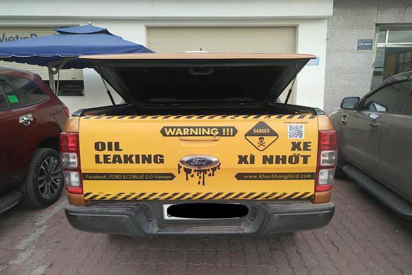 Xe Ford chảy dầu: Khách hàng muốn kiện Ford ra toà - Ảnh 1.
