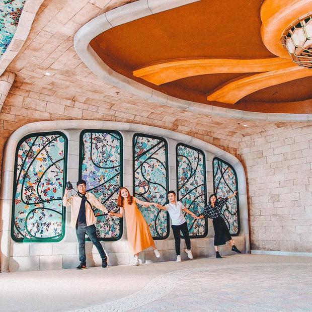 Nhà ga cáp treo đạt kỷ lục Guinness thế giới của Việt Nam: Bên trong đẹp tựa châu Âu thu nhỏ, xem ảnh sống ảo chỉ biết ngỡ ngàng - Ảnh 19.