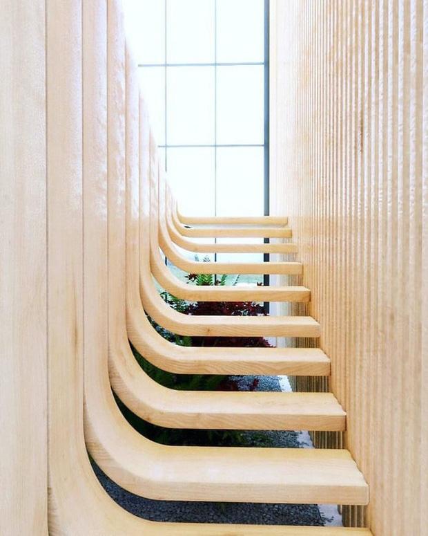 Trong con mắt của kiến trúc sư tài ba, cầu thang cũng có thể biến thành tác phẩm nghệ thuật như thế này đây - Ảnh 3.