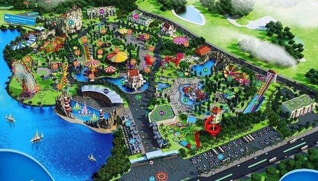 Hà Nội chuẩn bị có Vinpearl Land rộng 80ha tại Gia Lâm kết hợp Safari dưới nước và trên cạn - Ảnh 2.