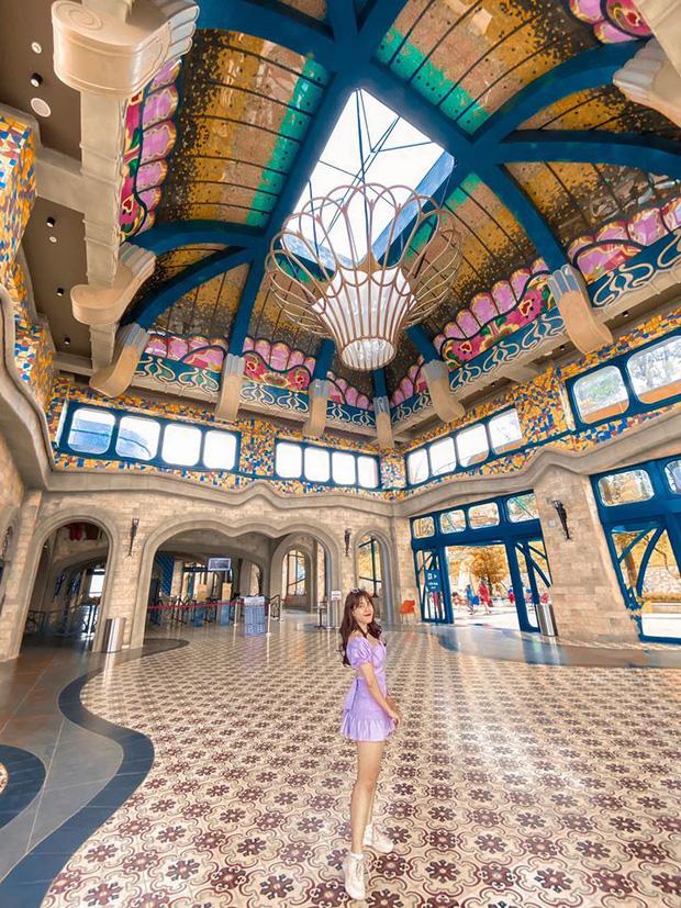 Nhà ga cáp treo đạt kỷ lục Guinness thế giới của Việt Nam: Bên trong đẹp tựa châu Âu thu nhỏ, xem ảnh sống ảo chỉ biết ngỡ ngàng - Ảnh 6.