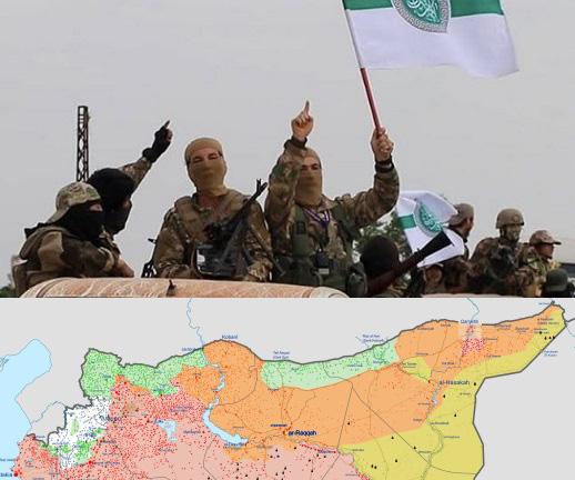 Ngấm ngầm bắt tay với Mỹ, Thổ tính ra đòn vào tử huyệt của QĐ Syria: Gấu Nga có để yên?  - Ảnh 3.