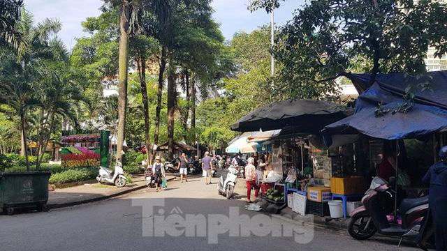Cận cảnh ô đất vàng dịch vụ cuối cùng đô thị mẫu Hà Nội bỏ hoang 20 năm - Ảnh 8.